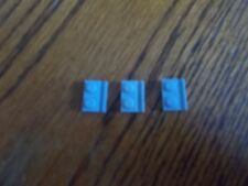 Lego Lt Bluish Grey Modified Plate 1 x 2 With Door Rail, Pt No 32028, Pack of 3