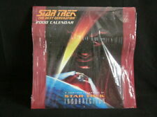 Star Trek The Next Generation - Insurrection Year Long 2000 Calendar - Orig Wrap
