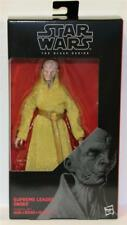 "STAR WARS 6"" BLACK SERIES # 54 SUPREME LEADER SNOKE NEAR MINT AWESOME"