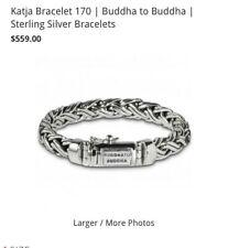 Authentic Buddha to Buddha Katja Bracelet in 925 Sterling Silver