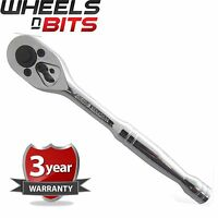 "NEW Professional Quick Release Ratchet Wrench 1/2"" Inch Drive With 3Yr Warranty"