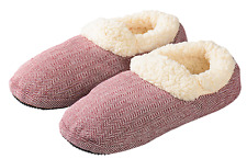 Intelex Warmies Slippies Hausschuhe mit Laufsohle Boots Comfort rot (37-41)