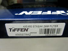 "New Tiffen 4x5.65"" Streak 2mm Glass Filter 4560STRK2"