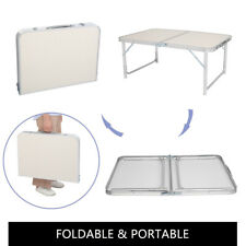 Aluminum Folding Table Portable Indoor Outdoor Picnic Party Camping Tables