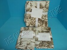 Pottery Barn Nob Hill Floral Peony Iris Bed Duvet Cover Full Queen FQ Euro Shams
