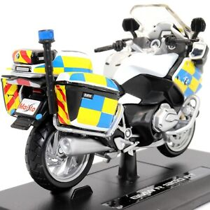 BMW R 1200 RT Police 1:18 Scale Model Die-cast Toy Motorcycle Motorbike Maisto