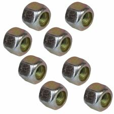 """Pack of 8 3/8"""" UNF Wheel Nuts Nut For Trailer Suspension Hubs"""
