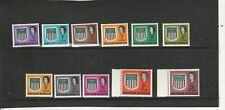 NORTHERN RHODESIA 1963 SET TO 2/6 LIGHTLY HINGED MINT