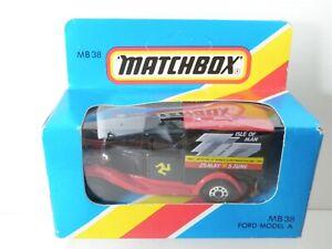 Matchbox MB 38 Ford Model A Isle of Man TT Races 1987 in sealed box.