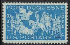Scott 1123- Fort Duquesne Occupation, 200 Years- MNH 4c 1958- unused mint stamp