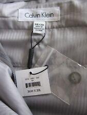 Nuevo Calvin Klein X Ajuste Coupe x Pantalón Extreme Slim Fit Pantalones De Golf Gris 36 W 30 L