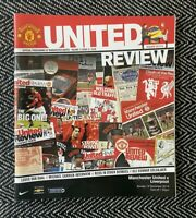 Manchester United v Liverpool 2014 Programme 14/12/14!FREE UK DELIVERY!LAST ONE!