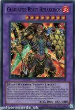 LCGX-EN253 Gladiator Beast Heraklinos Super Rare UNL Edition Mint YuGiOh Card