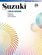 Suzuki Violin School 3 Revised Edition mit CD - Shinichi Suzuki - 9780739048177