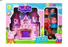 New Peppa Pig Castle Set With Figures Kids Children Christmas Xmas Gift