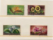 Indonesia Flores Valores del año 1957 (DL-61)
