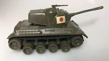 Nichimo Vintage Tinplate / Plastic Clockwork Japanese Tank RARE