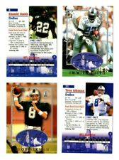 1997 SB Emmitt Smith #6 Troy Aikman #31 STRONGBOX EMBOSSED RARE Dallas Cowboys