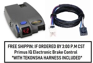 90160 Tekonsha Brake control with Wiring Harness 3050 FOR 2004-2019 Nissan