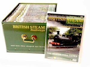 British Steam Railways DVD's - Please Choose From Drop Down Listing