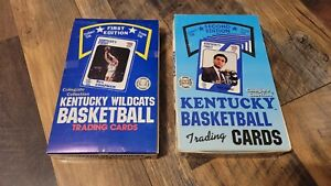 1988 1989 Collegiate Collection Kentucky Wildcats Basketball 1st & 2nd Edition