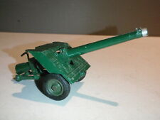 VINTAGE MILITARY BRITAINS HOWITZER ARTILLERY WEAPON DIE CAST ARMY GUN TOY
