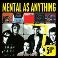 MENTAL AS ANYTHING 5CD NEW Get Wet/Cats And Dogs/Fundamental/Mouth To/Liar Liar