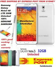 "Samsung Galaxy Note 3 SM-N900S 32GB 13MP 5.7"" Smartphone White Unlocked"