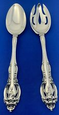 Gorham, La Scala, Sterling,Salad Serving set 2pcs, All Silver 6.9 ozt