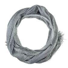 Écharpes et châles foulards gris en polyester pour femme