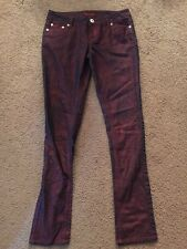 What's Hot young junior womens jeans size 5/6 inseam 28