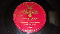"EDDY HOWARD Dearest Santa / The Christmas Song 10"" 78 Majestic 1173"