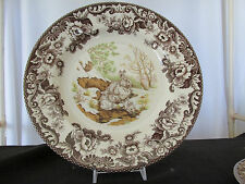 "Spode Woodland ""Snow Shoe Rabbit"" Dinner Plate - Made in England"