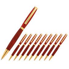 Slimline Pen Kit, Gold Finish, 10 Pack, Legacy Woodturning