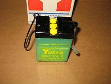1968-71 Yamaha DT1 RT1 CT1 JT2 Yuasa Battery 6N2-2A-3 NEW Vintage NOS OEM Japan