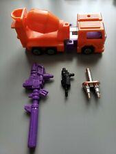 Transformers G2 MIXMASTER COMPLETE CONSTRUCTICONS DEVASTATOR Orange Kay Bee 1992