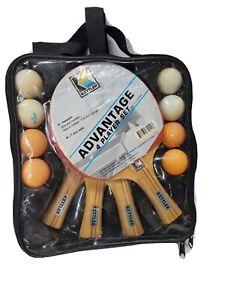 Kettler Advantage 4 Player Ping Pong Set, New