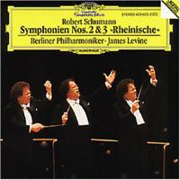 LEVINE - BERLINER PHILHARMONIKER - SCHUMANN,ROBERT - SINFONIEN 2+3   CD NEW+