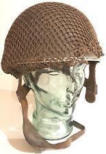Rare Original WW2 D-Day KIA Airborne Forces Parachute Para Regiment Named Helmet