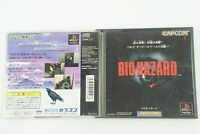 Resident Evil Bio Hazard PS1 Capcom Sony Playstation From Japan