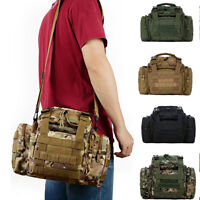 HK- Lot Outdoor Military Tactical Waist Pack Molle Camping Hiking Pouch Bag Exot