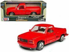 1992 GMC Sierra GT Red Pickup Truck 1:24 Diecast Model Motormax FACTORY SEALED