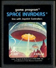 Atari 2600 Spiel - Space Invaders #Picturelabel Modul