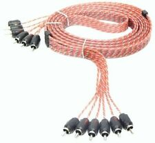 Stinger SI4617 Car Audio RCA Interconnect Cable 6 Channels 17 ft 4000 Series