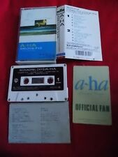 Vintage! a-ha Scoundrel Days JAPAN CASSETTE TAPE JAPANESE / UK DSP