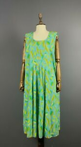 Women GUDRUN SJODEN Multicoloured Floral LagenLook Tunic Dress Size  XXL