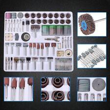 For Dremel Rotary Tool Accessories Kit Grinding Polishing Shank Craft Bit -216pc