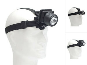 Kopflampe Stirnlampe LED-Lampe Stirnleuchte Klappbar Schwarz