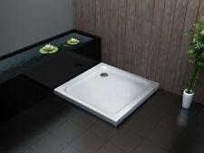 80 x 80 cm Acryl Duschtasse Duschwanne Dusche Brausewanne Acrylwanne 50 mm flach
