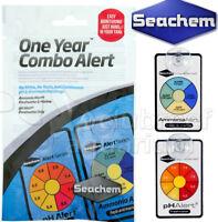1 Year Alert Combo Ammonia pH Color Changing Aquarium Water Monitor Seachem